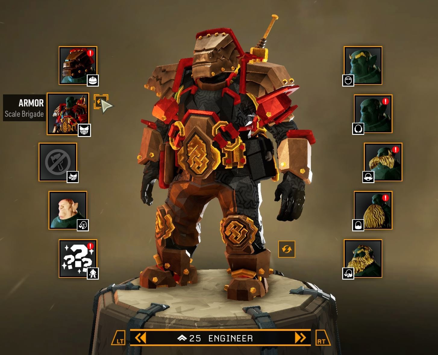 Everyone can unlock the Scale Brigade Armor until March 14, after which point it's limited to Rank 100 players and up.